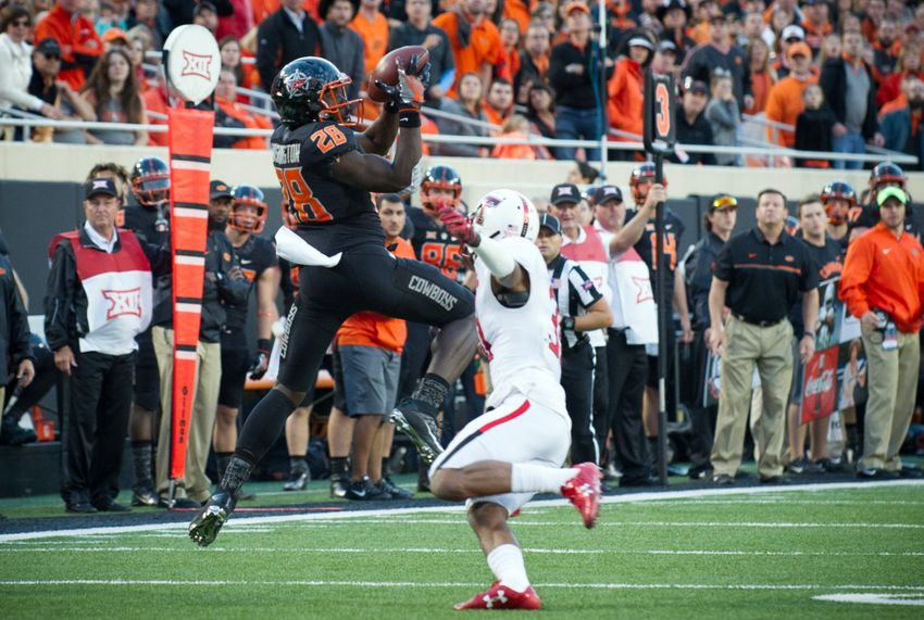The effect James Washington and Mason Rudolph will have by staying at Oklahoma State