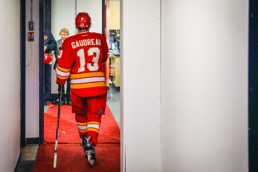 Calgary Flames: Johnny Gaudreau Compared To His Draft Year
