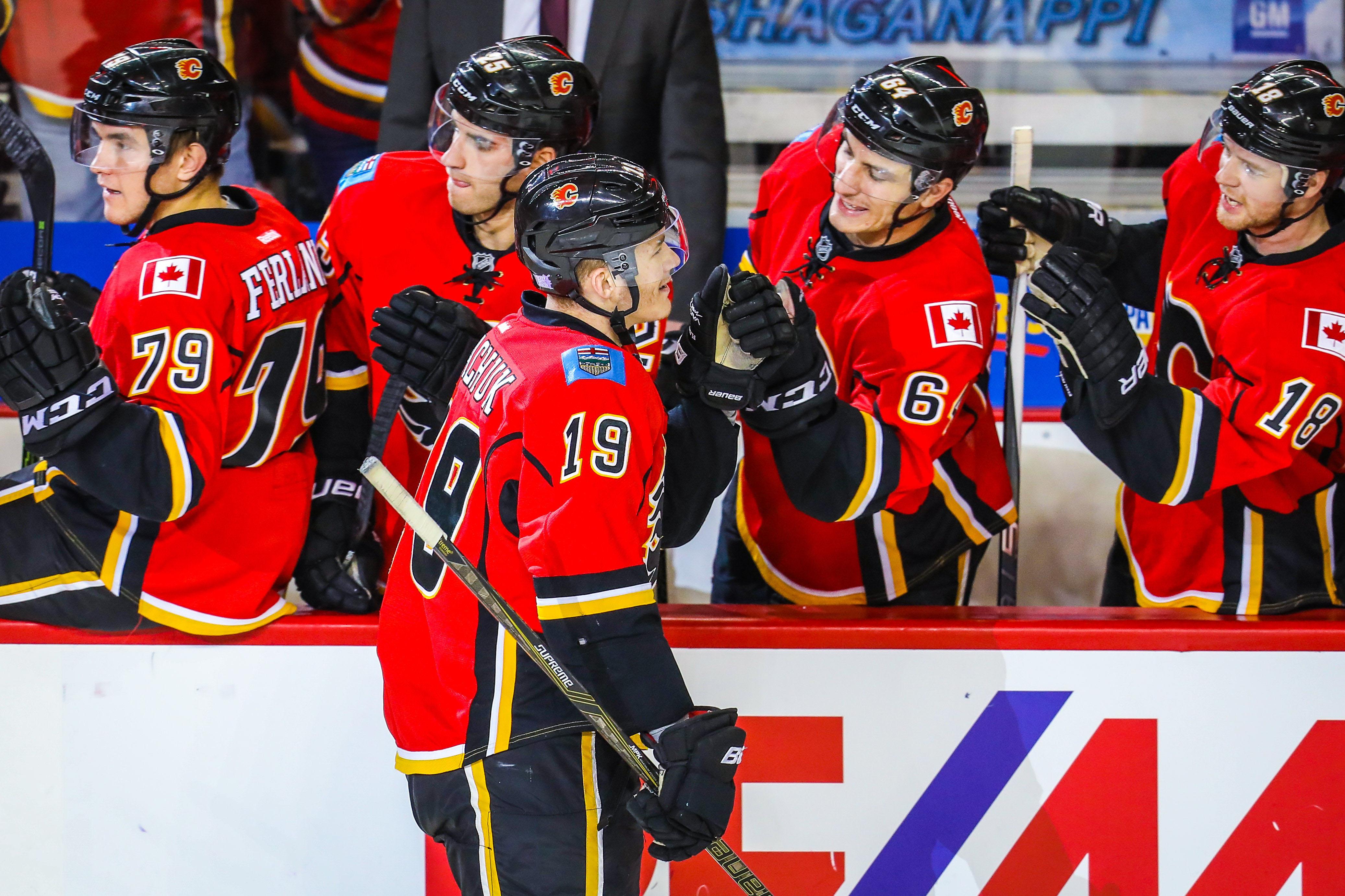 Calgary Flames Rookie Matthew Tkachuk Should Be In Calder Talks