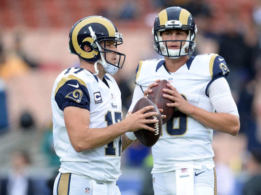 Rams' Case Keenum Reacts to Being Inactive for Final 2 Weeks