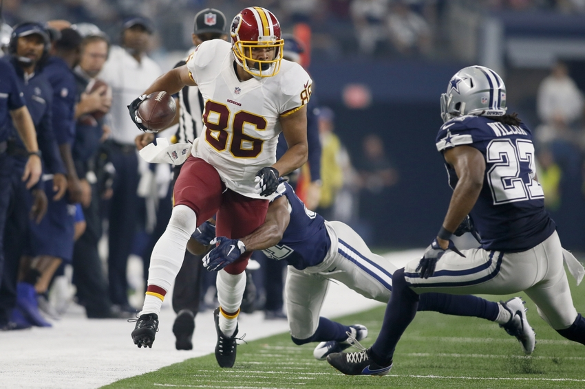 Jordan Reed Fined For Punching Kurt Coleman On Monday Night