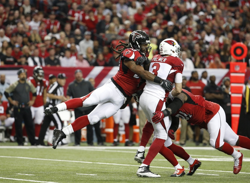 Adrian Clayborn returns to practice for the Atlanta Falcons