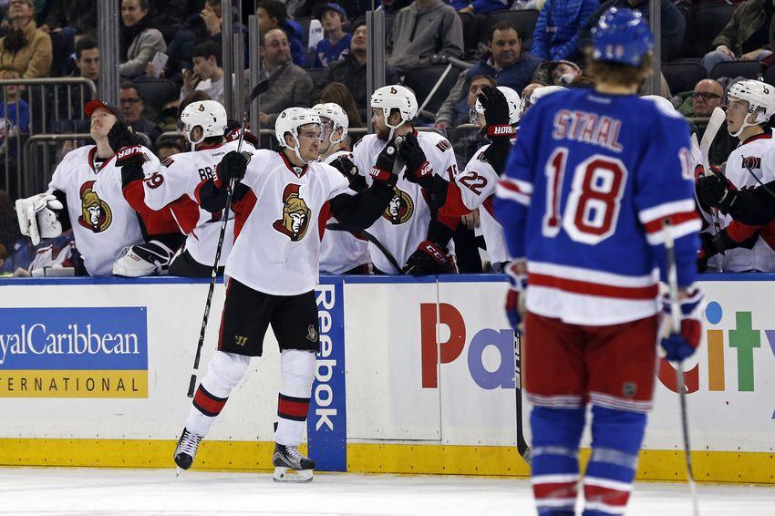 Ottawa Senators at New York Rangers Game Preview