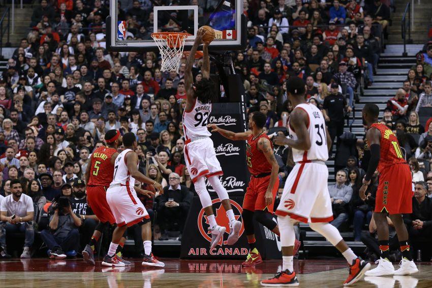 Hawks (12-13) at Raptors (18-7): Preview