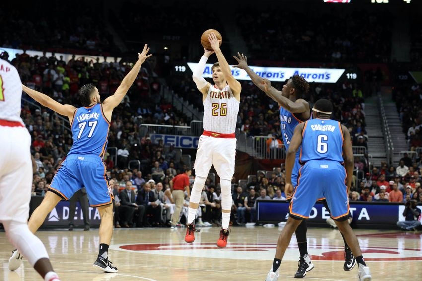 Atlanta Hawks: Kyle Korver Excelling In Bench Role