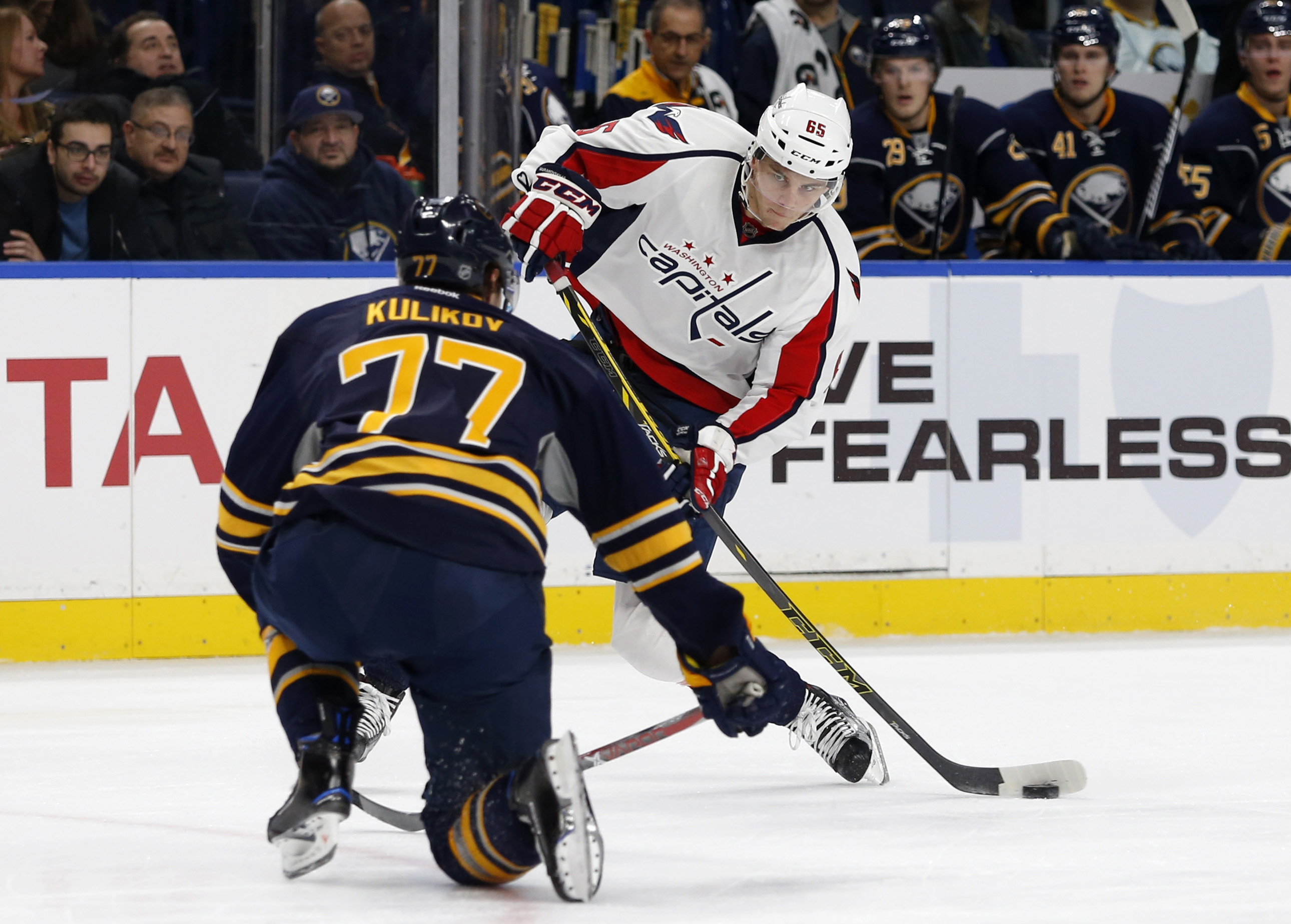 Dmitry Kulikov Displayed Zero Regard For His Body In Sabres Win In Nashville