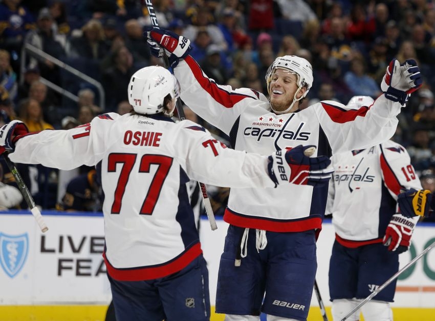 Capitals use Offensive Firepower to Dominate Devils