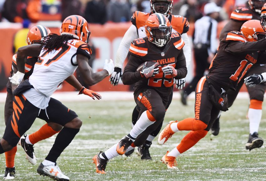 Cleveland Browns: Rushing average hits a 50-year high