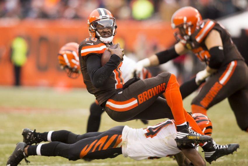 Cleveland Browns to continue RG3 charade on Sunday
