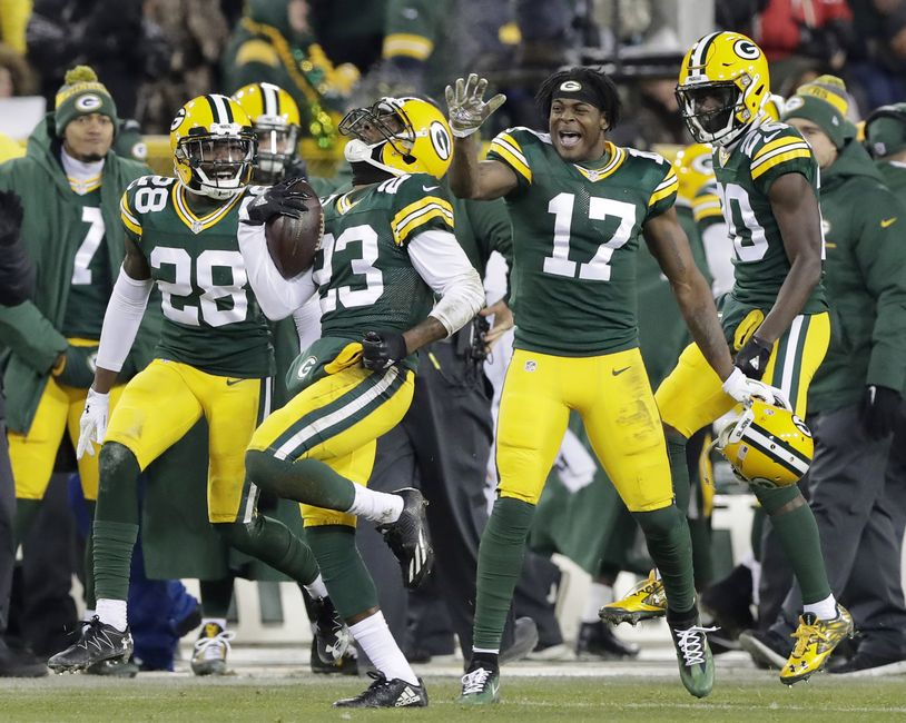 Green Bay Packers: Young players to build team around
