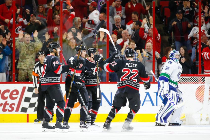 Carolina Hurricanes Will Get a Massive Boost From Win Over Vancouver