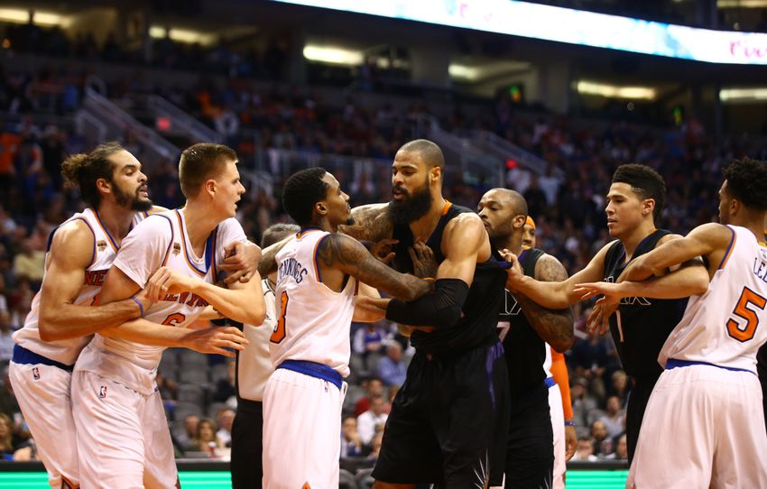 New York Knicks: Who Stepped Up Against The Phoenix Suns?