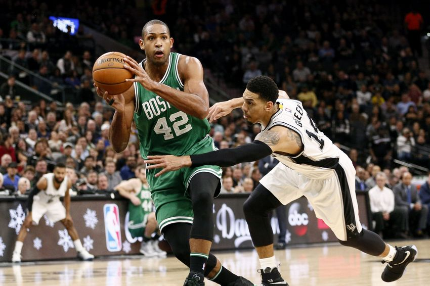 Al Horford Setting Tone With Ball Protection