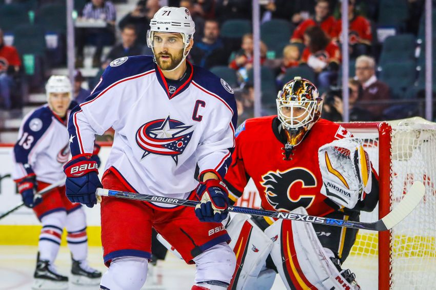 Calgary Flames Can't Beat Red Hot Columbus Blue Jackets