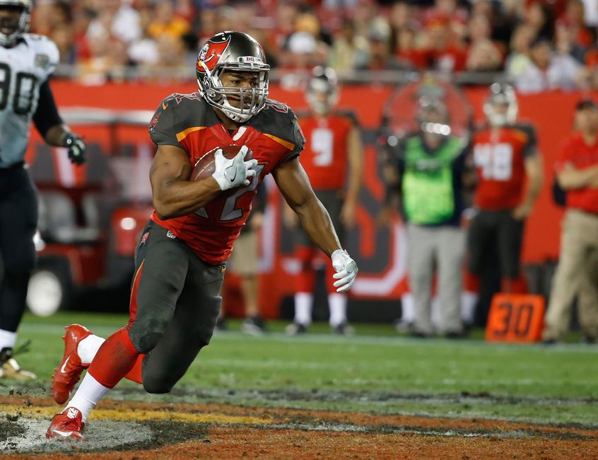 Doug Martin inactive for Tampa Bay Buccaneers vs New Orleans Saints