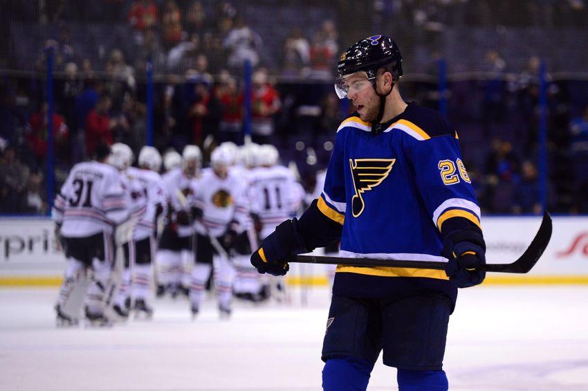 St. Louis Blues Morning Links:  Blues Blackened By Hawks