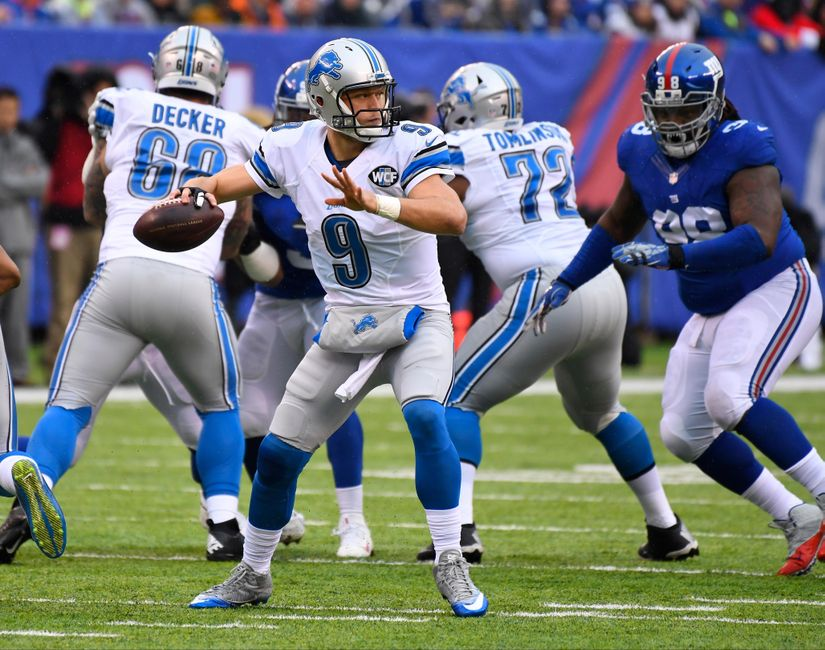 Lions Sputter on Offense in 17-6 Loss to the Giants