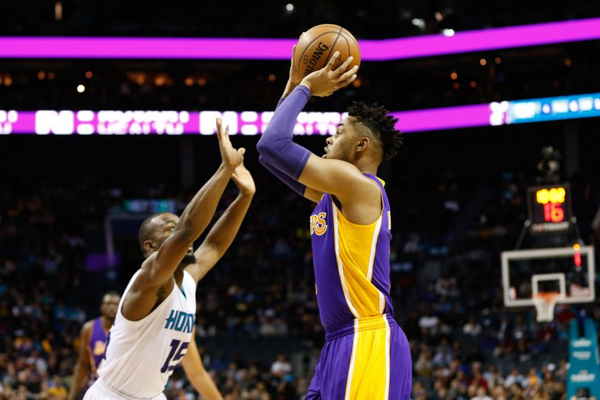 Kemba Leads the Charlotte Hornets to a Second Half Comeback Over the Lakers