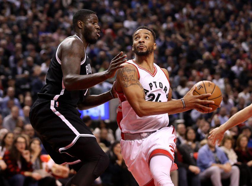 Raptors 116 - Nets 104: Walkover