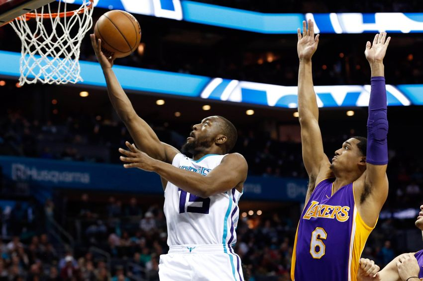 Kemba Walker and Nicolas Batum Lead the Charlotte Hornets Past the Lakers