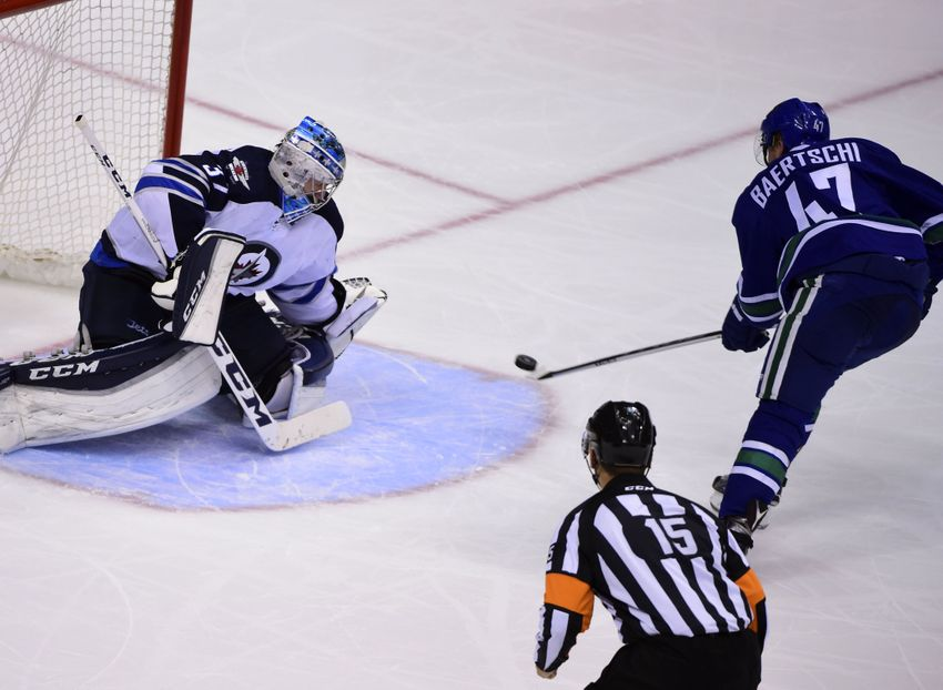 Vancouver Canucks Top Line Helps Down Winnipeg Jets