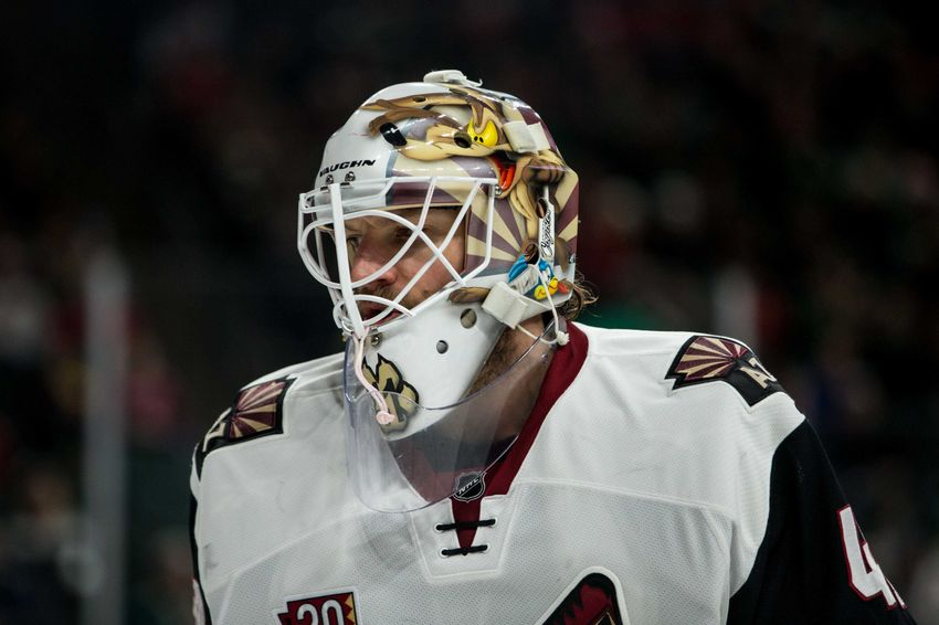 Arizona Coyotes: Mike Smith's Outbursts Sum Up The Season