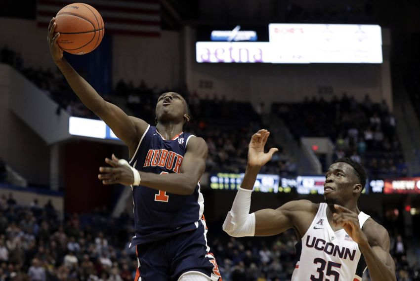 Jared Harper Freshman of the Week Honors is Sign of Things to Come