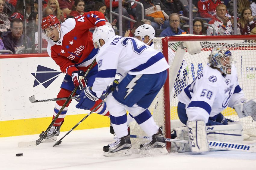 Tampa Bay Lightning Shutout By Washington Capitals In Final Game Before Christmas