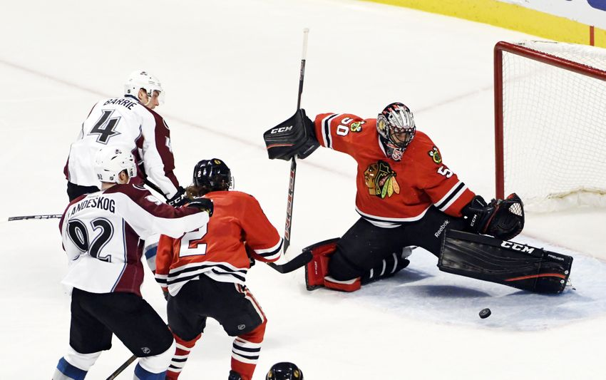 Chicago Blackhawks' Toews and Crawford Shine in OT Loss to Avs
