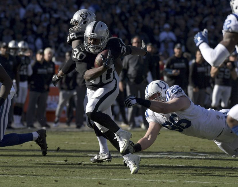 Report Card: Oakland Raiders vs. Indianapolis Colts