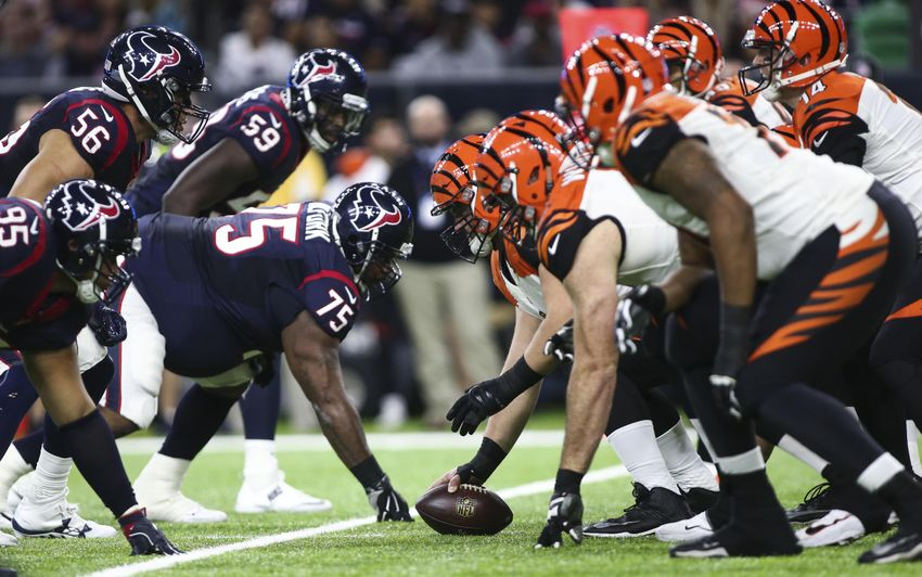Cincinnati Bengals Holding On In Houston 3-0 At Half
