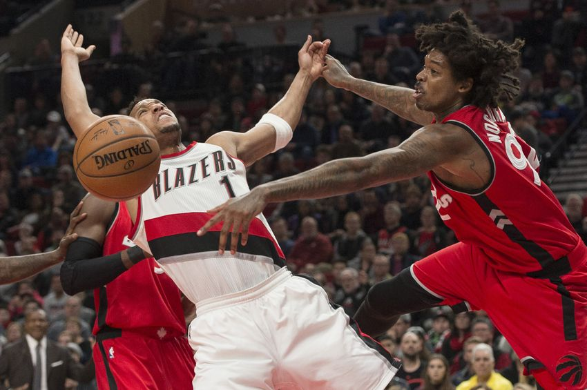 Raptors 95 - T'Blazers 91: Win with D