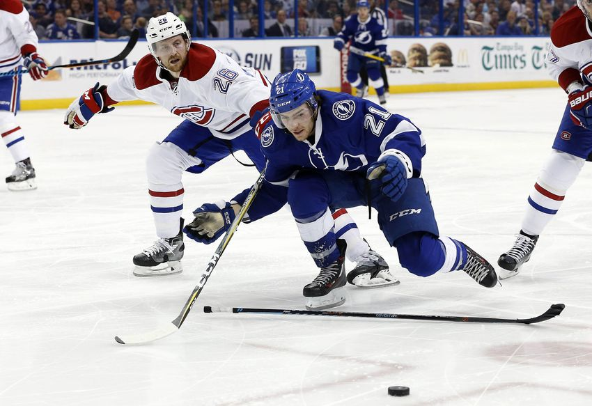 Tampa Bay Lightning F Brayden Point Out 4-6 Weeks With Upper-Body Injury
