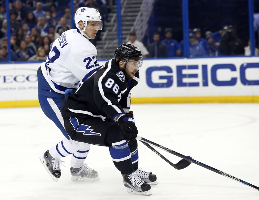 Tampa Bay Lightning Are Falling Back Into Old Habits