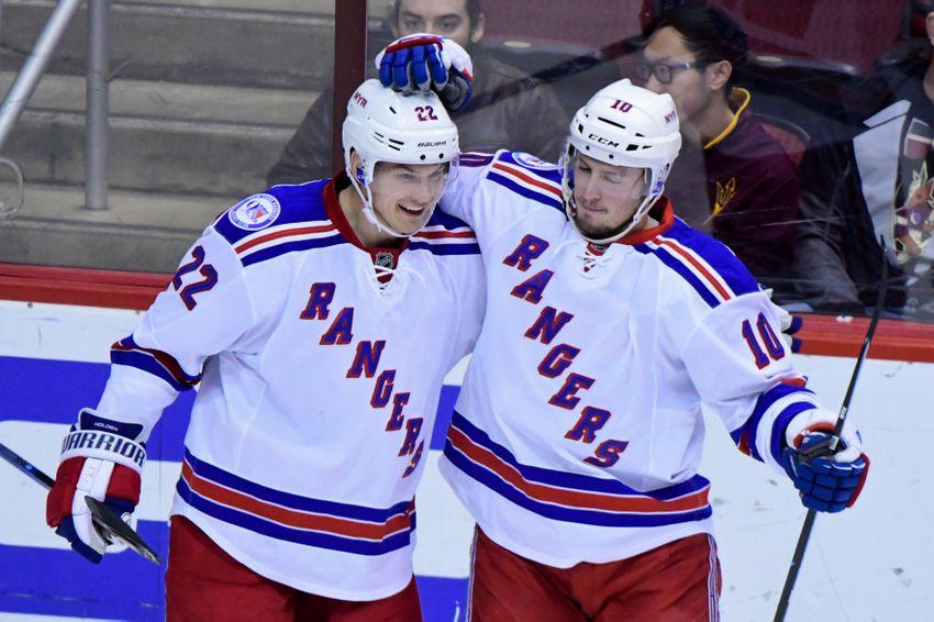 New York Rangers Win Behind Matt Puempel Hat Trick