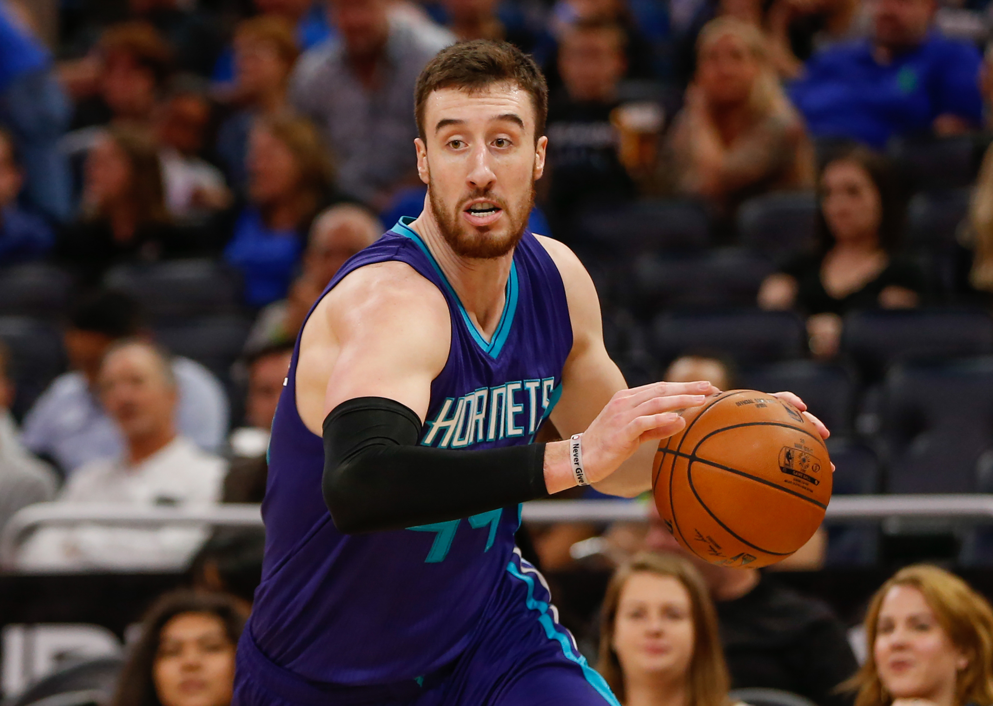 Frank Kaminsky has a Game of Thrones toilet decal in his bathroom