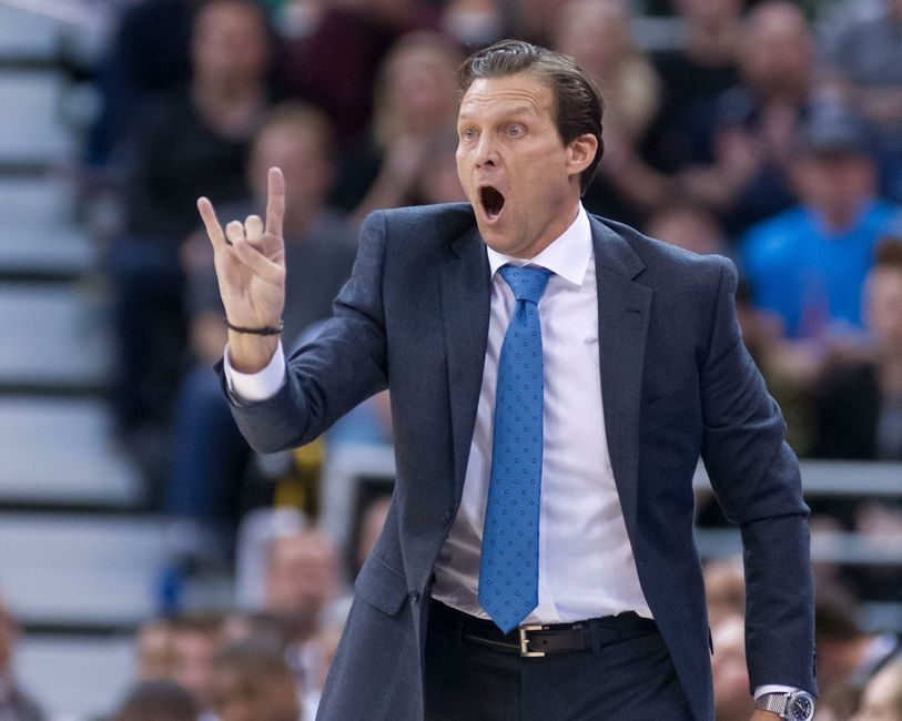 Quin Snyder Wins 100th Game As Utah Jazz Head Coach