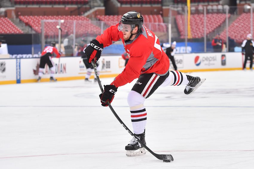 Chicago Blackhawks' Tyler Motte Sent To Rockford