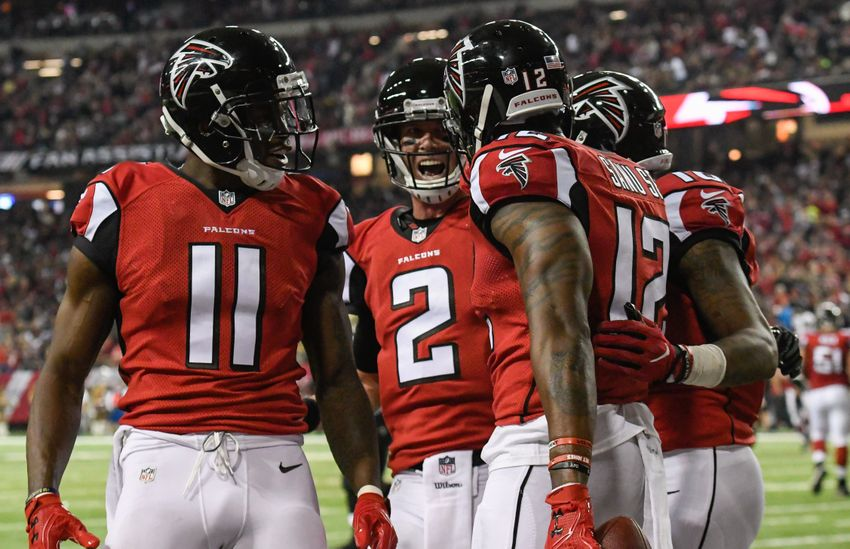 Atlanta Falcons beat New Orleans Saints to clinch playoff bye