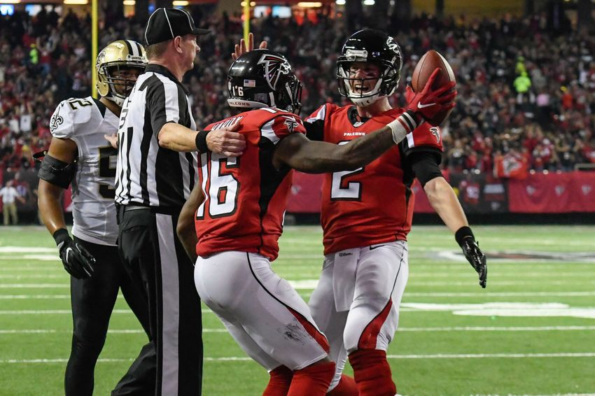 Atlanta Falcons right where they need to be after sweeping the Saints