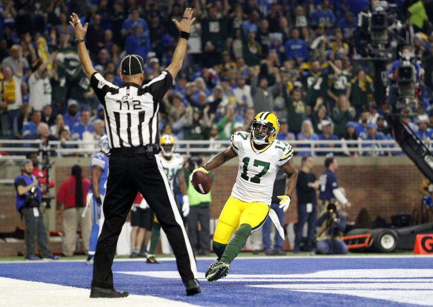 Packers' Davante Adams falls just short of milestone in breakout year