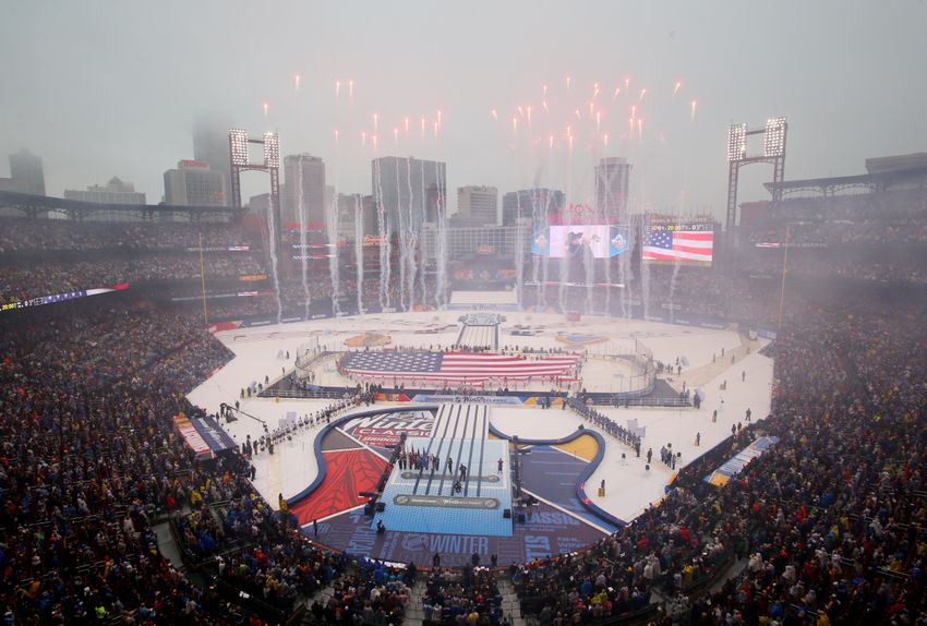 St. Louis Blues Winter Classic Emotional Even From Home