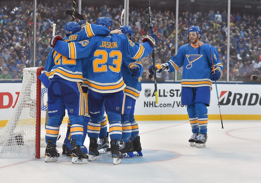 St. Louis Blues Morning Links:  Winter Classic Is Classic Win