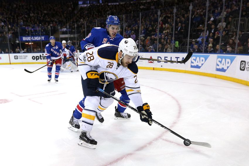 New York Rangers Suffer New Years Hangover Against Sabres