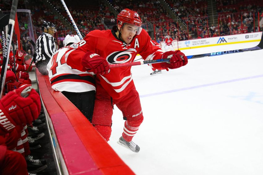 Carolina Hurricanes Center Victor Rask is Struggling Right Now