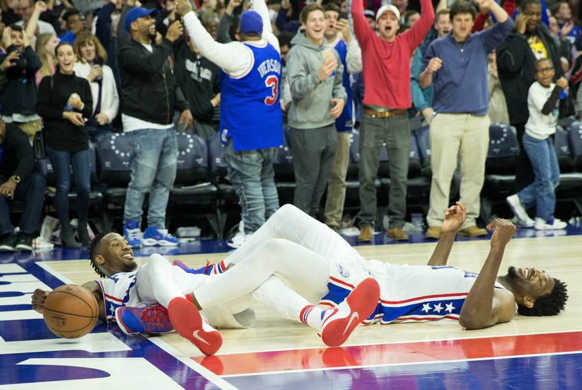76ers beat Timberwolves on crazy tip-in at the buzzer (Video)