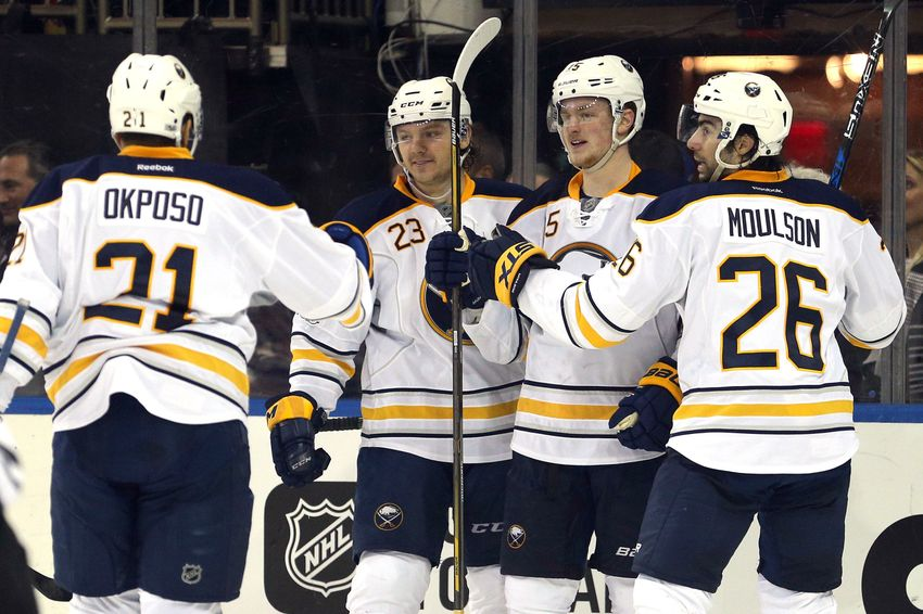 Buffalo Sabres Prove It Ain't All Dan Bylsma's Fault In Win Against Blueshirts