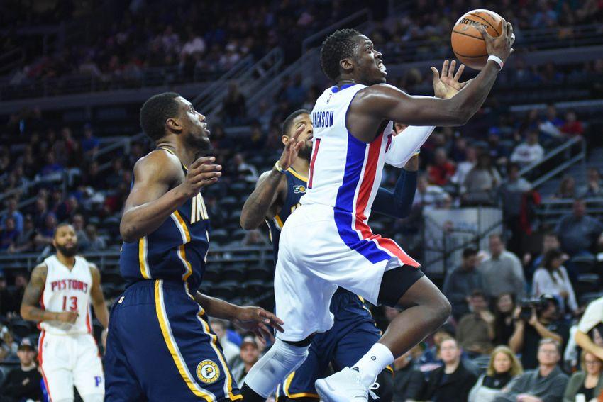 Reggie Jackson has hit his mid-season stride for the Detroit Pistons