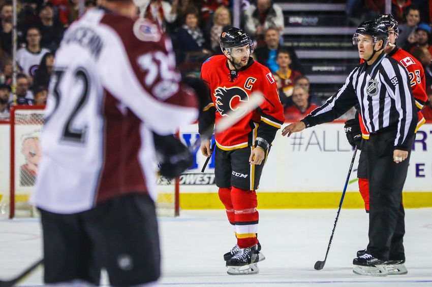 Calgary Flames Top Avalanche While Iginla and Giordano Almost Fight