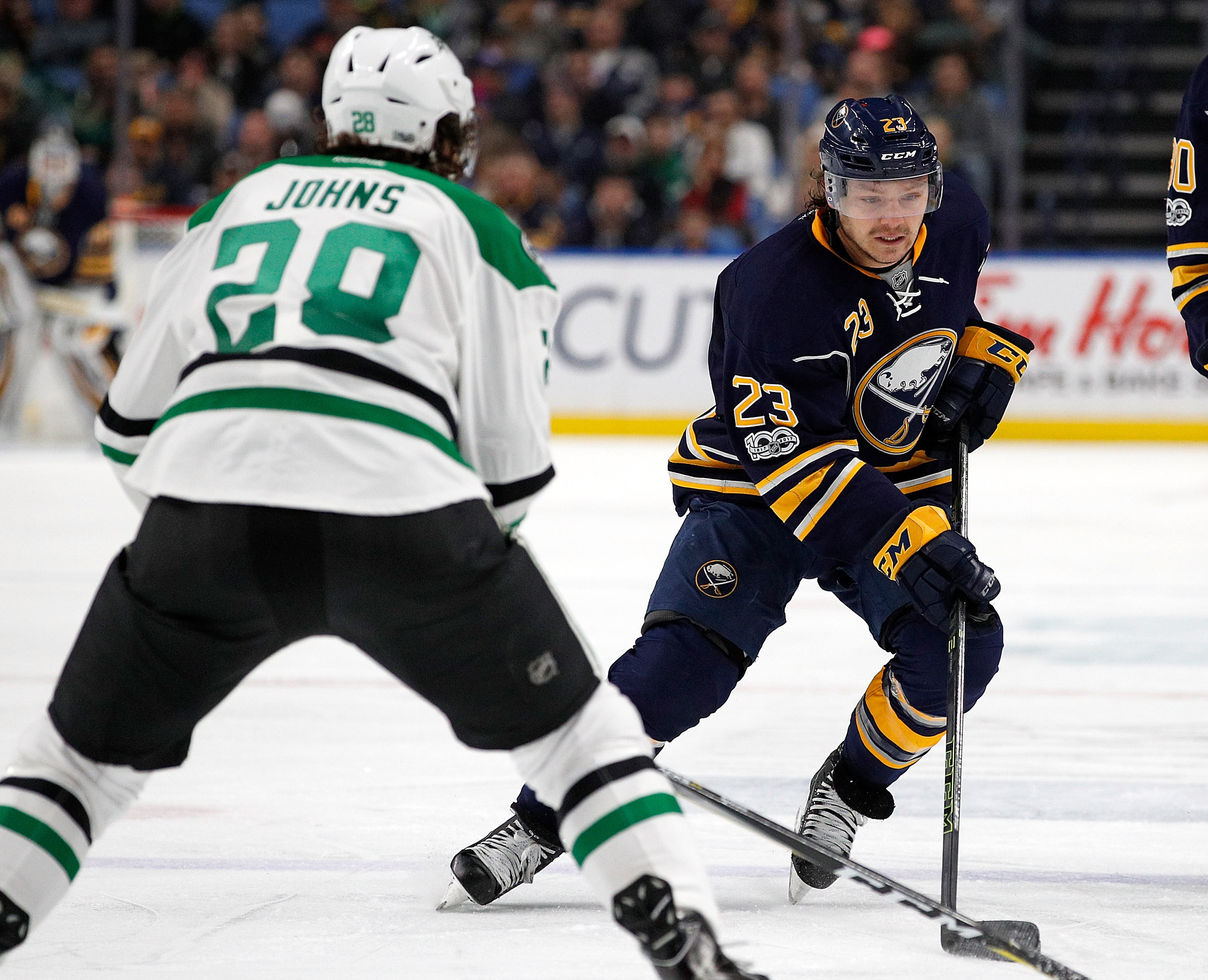 Sam Reinhart Has Kicked The Sophomore Slump Despite Buffalo Sabres' Anemic Offense